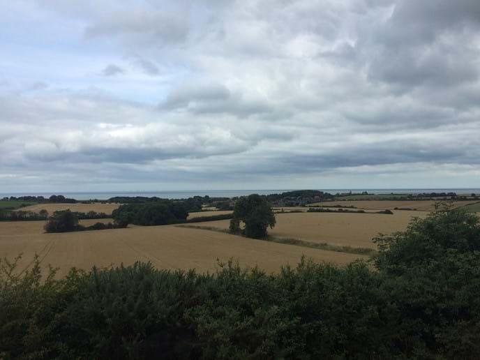 Weybourne Village (view from Kelling Heath)