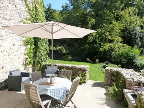 Vakantiehuis Dordogne aan Rivier Hond