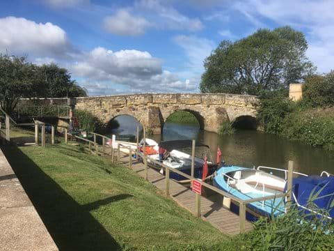 Bodiam Boating Station on the River Rother