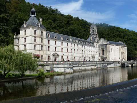 Brantome monastery