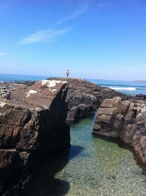 The rock-pools at Machir Bay