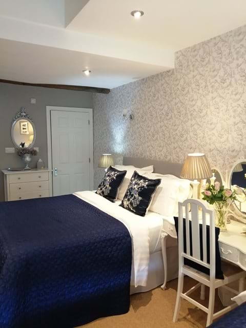 Beautiful decorated bedroom with the most comfortable Kingsize bed