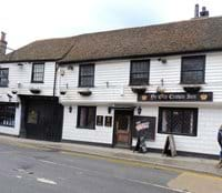 Dead opposite Taylour House is 'Ye Olde Crown Inn', another historic building in the town
