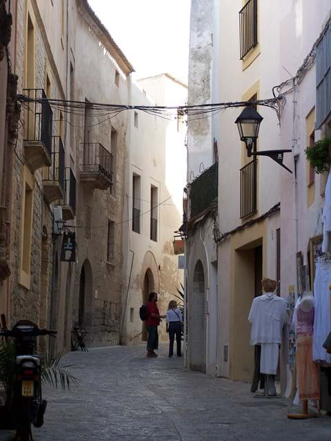 Old narrow streets