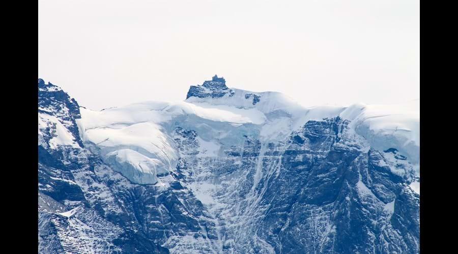 Jungfraujoch (Top of Europe) 1hr 45mins by train from Lauterbrunnen