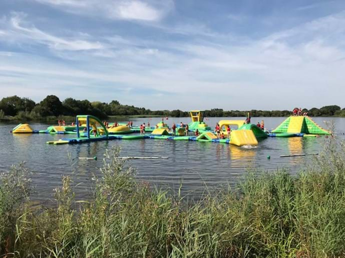 Wi-Bit Aquaventure, Cotswold Country park and beach
