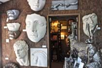 Sculpture Haven shop.