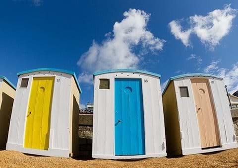 Ventnor beach huts