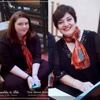 Lisa, social media ; Debbie, membership