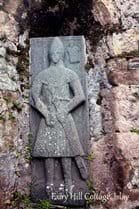 Stones at Kildalton Chapel.