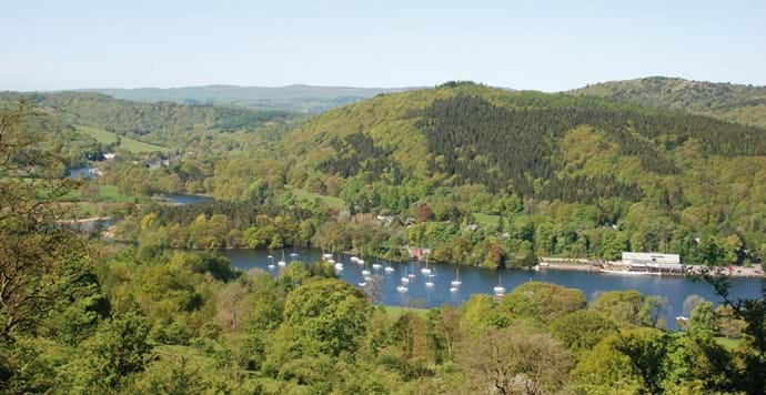 windermere lake from gummers how