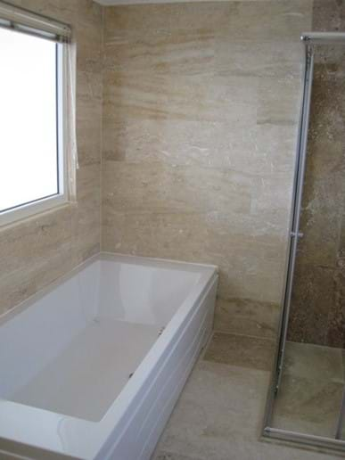 Two of the double bedrooms also have a bath in the ensuite
