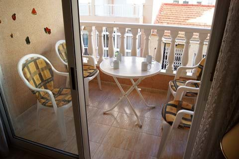 Holiday apartment - balcony