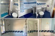 Our 4 bath/ shower rooms
