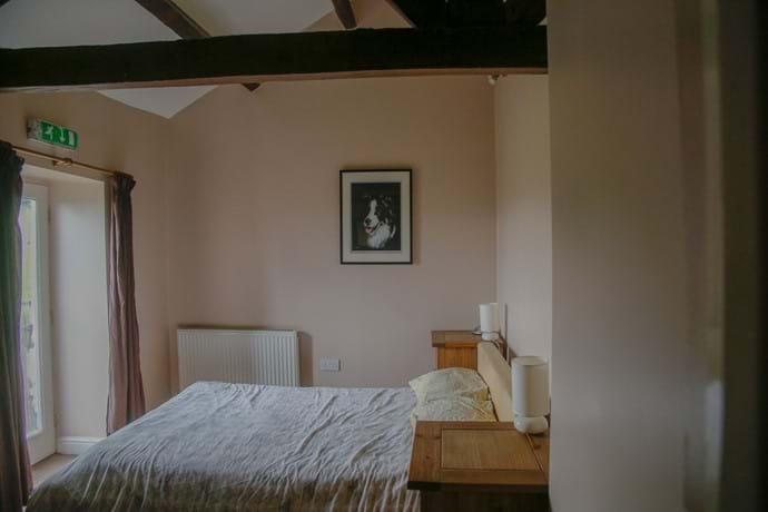 Laverock Lodge main bedroom