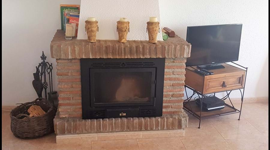 wood burning stove for the colder months