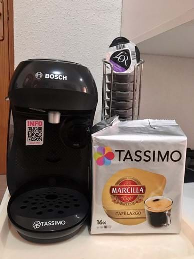 Bosch Happy Coffee Machine - just bring your favourite Tassimo flavour