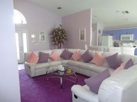Lounge with corner suite