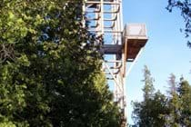 Observation tower at the Visitor