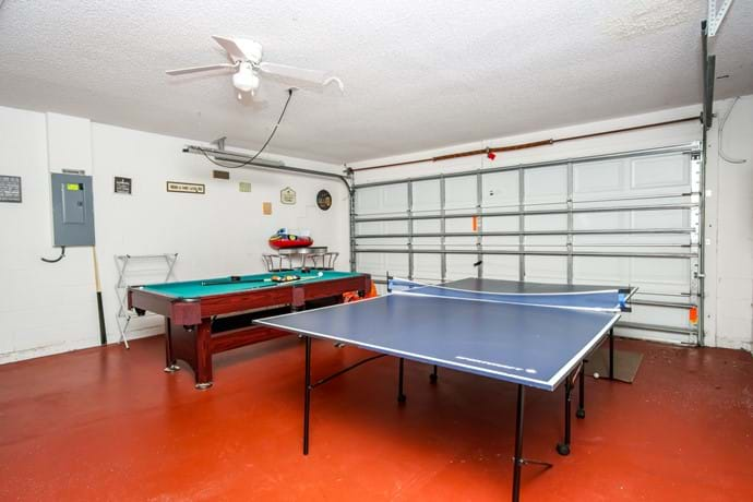 Games room (previously garage. Our large washer and dryer are also here