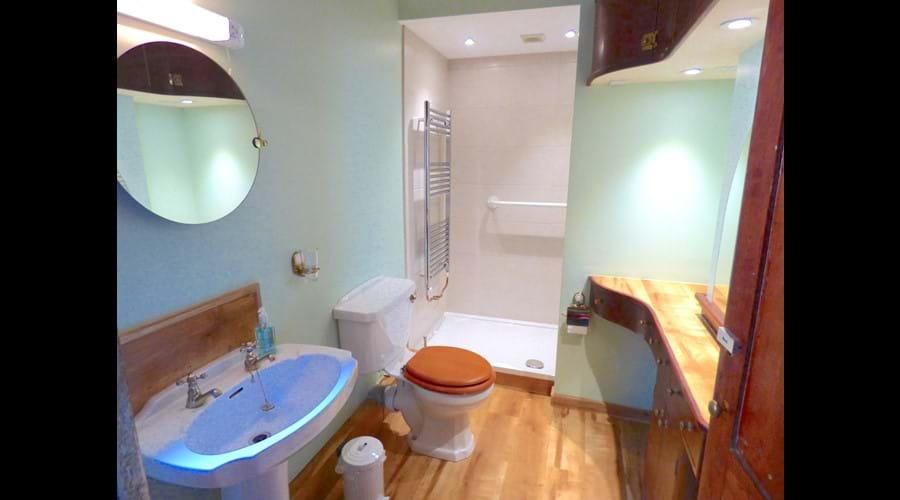 Newly-upgraded bathroom