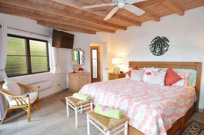King Bed Suite Rear Pavilion