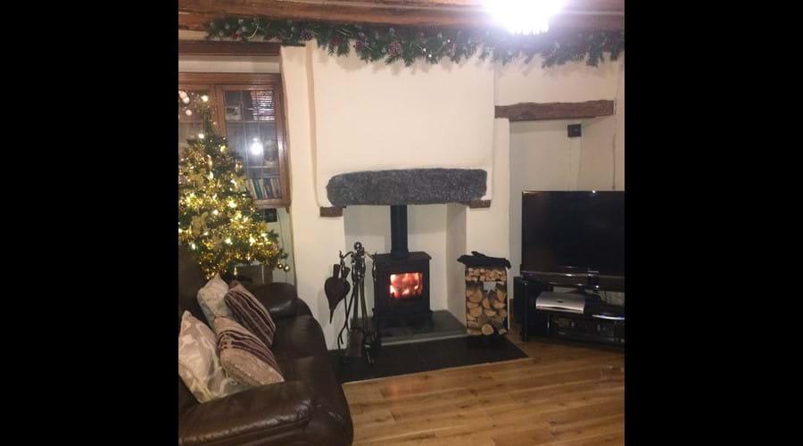 Whitestone Cottage at Christmas