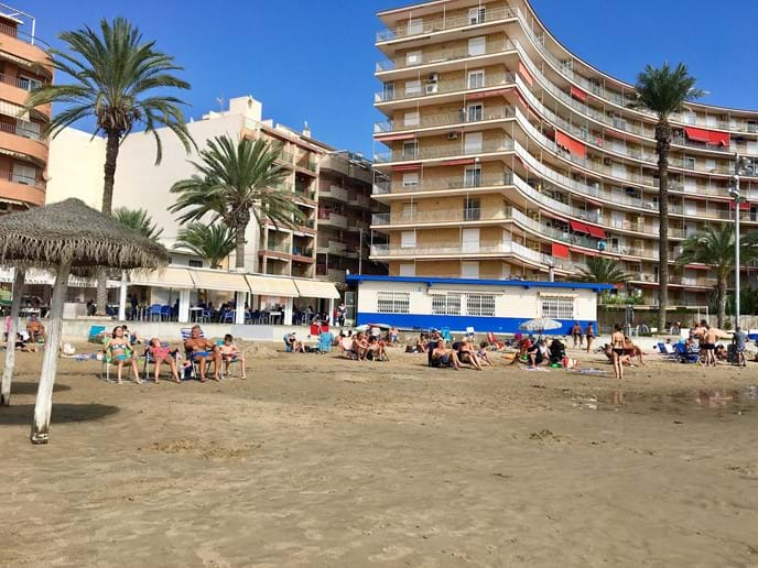 Holiday apartment - Playa del Cura in October