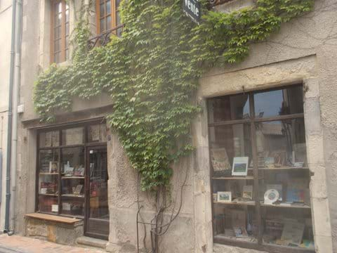 There are five book shops in the same street as The Writer