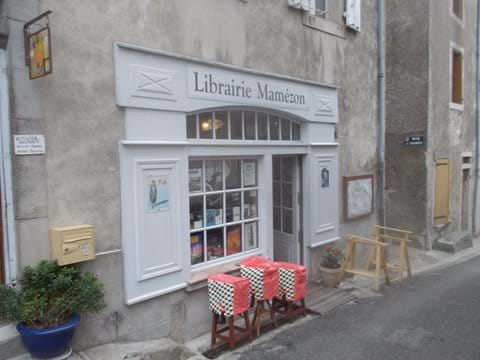 We have five book shops in