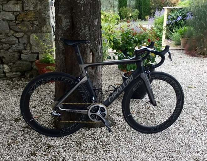 A very classy bike!