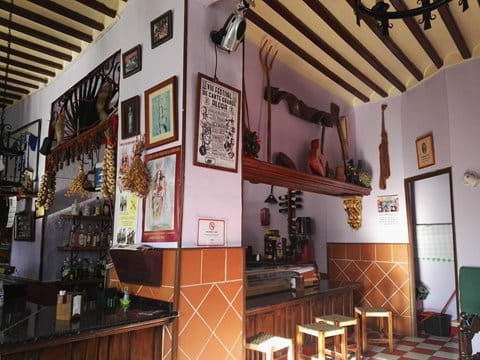 Bar Los Pepes in the centre of the village