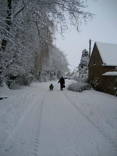 Back Street sledging