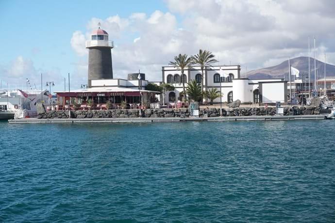 Marina Rubicon lots of bars, restaurants and shops