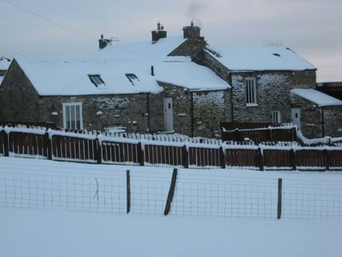 Cottages in snow!