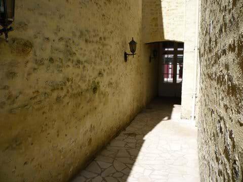 Security door to main street