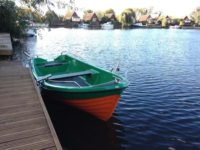 Rowing boat. Free to enjoy.