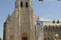 Abbey at St Riquier (20 minute drive away)