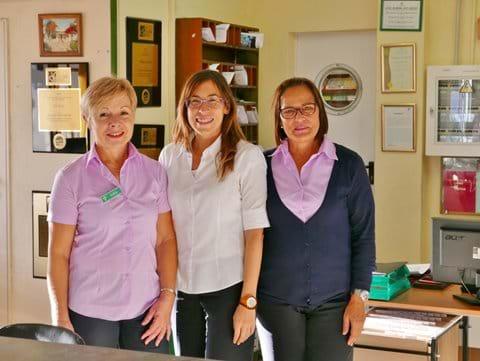Fantastic Reception Staff