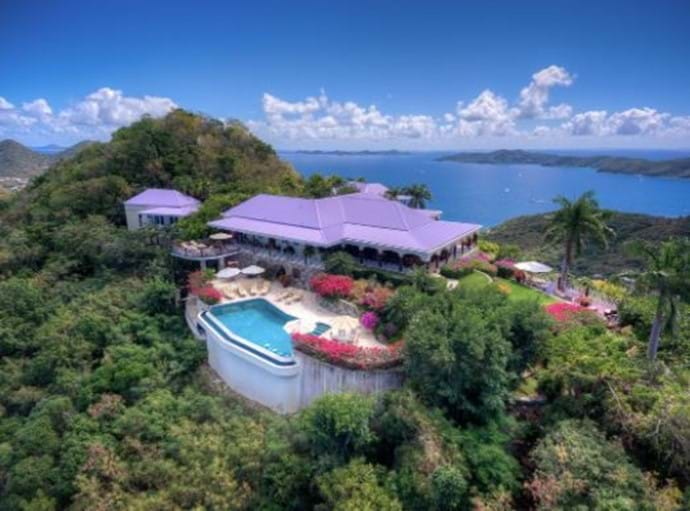 Welcome to St Bernards Hill House in the BVI.