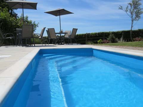 Plunge pool perfect for cooling off