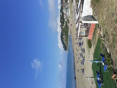 Agios Stefanos beach July 16 2020