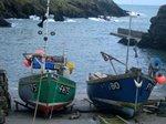 Boats at Portloe