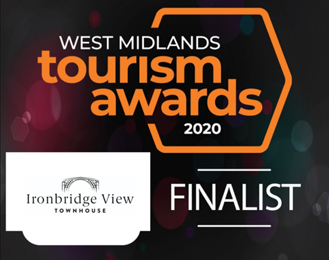FINALISTS FOR BEST SELF-CATERING IN THE WEST MIDLANDS 2020