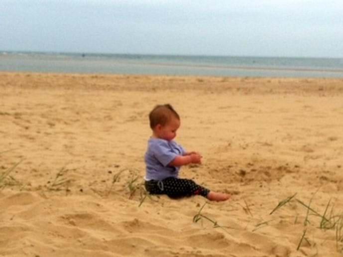 Holkham Beach is huge