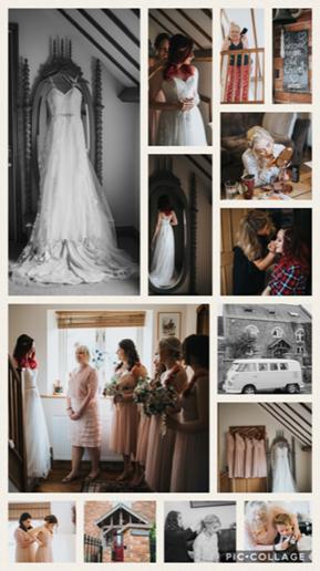 Bridal Party at the Chapel (credit James Green Studio)