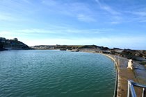 Bude sea pool for safe swimming