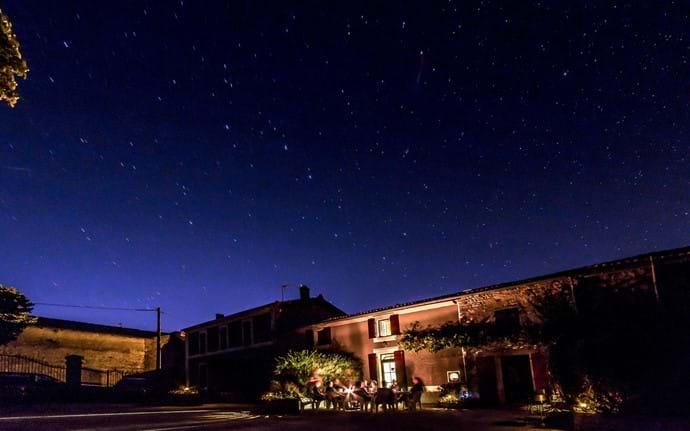 Enjoy long summer nights under millions of stars