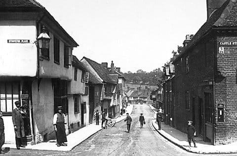 Bridge Street 1910  (©Saffron Walden Museum)