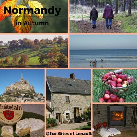 Autumn in Normandy at Eco-Gites of Lenault, a gite for 5 people in a delightful rural location